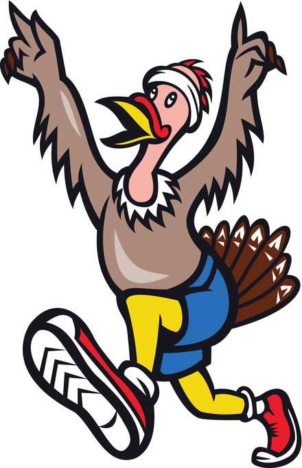 turkey-running