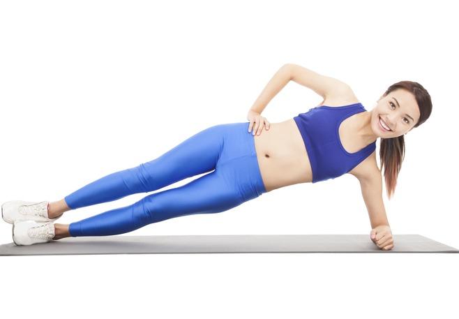 side-plank