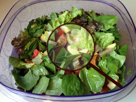 salad-magnifier