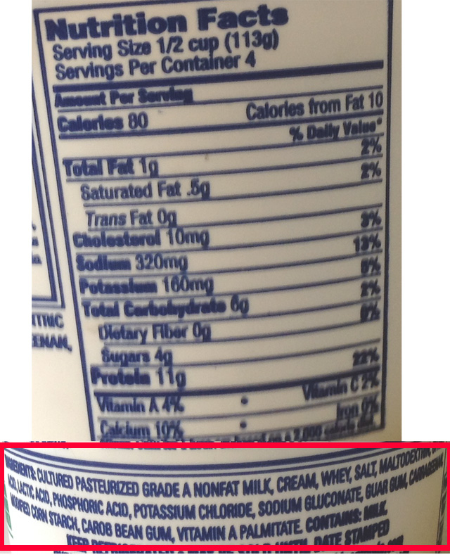 cottage cheese choices strongfast fitness rh strongfastfitness com Daisy Cottage Cheese Nutrition Daisy Cottage Cheese Low-Fat
