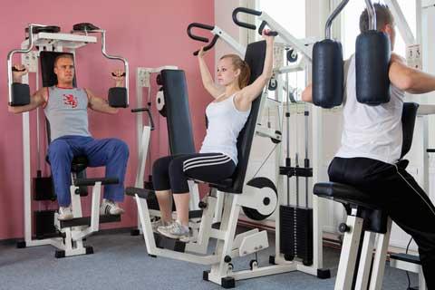 gym sitting